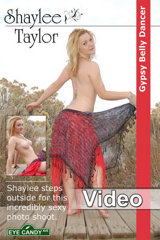Shaylee Taylor - `#55 - Gypsy Belly Dancer` - for EYECANDYAVENUE ARCHIVES