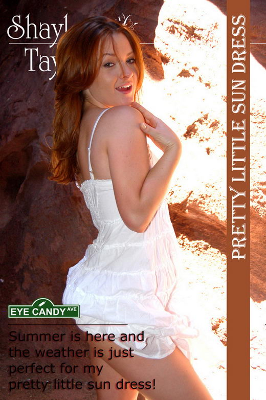 Shaylee Taylor - `#058 - Pretty Little Sundress` - for EYECANDYAVENUE ARCHIVES