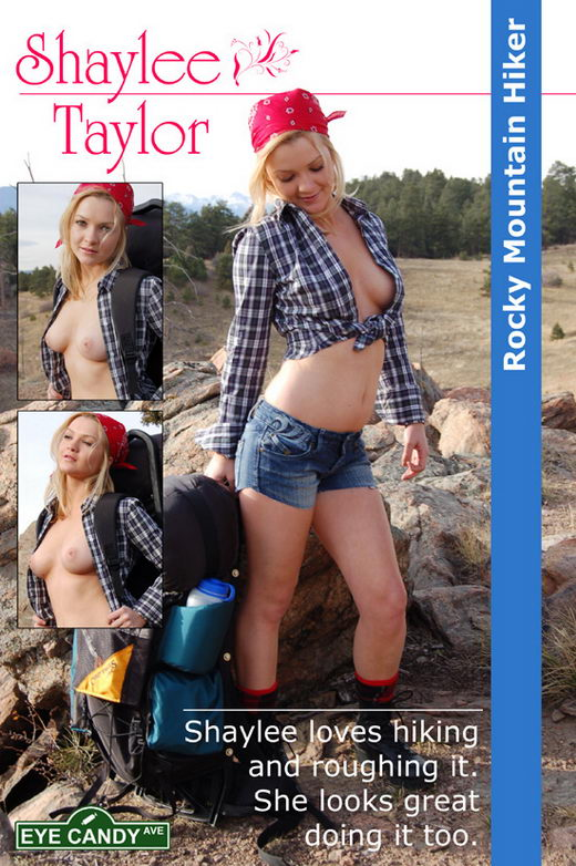 Shaylee Taylor - `#076 - Rocky Mountain Hiker` - for EYECANDYAVENUE ARCHIVES