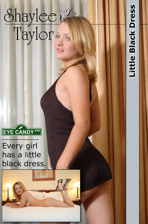 Shaylee Taylor - `#001 - Little Black Dress` - for EYECANDYAVENUE ARCHIVES