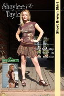 #036 - Short Brown Skirt