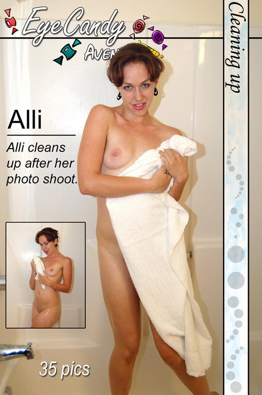 Alli - `#196 - Cleaning Up` - for EYECANDYAVENUE ARCHIVES
