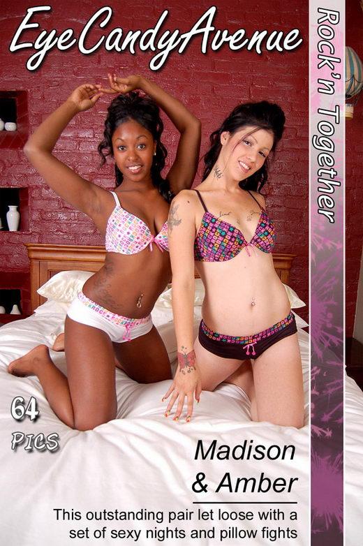 Madison & Amber - `#239 - Rock'n Together` - for EYECANDYAVENUE ARCHIVES