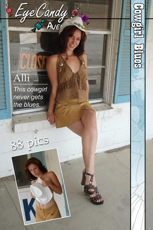 Alli - `#241 - Cowgirl Blues` - for EYECANDYAVENUE ARCHIVES