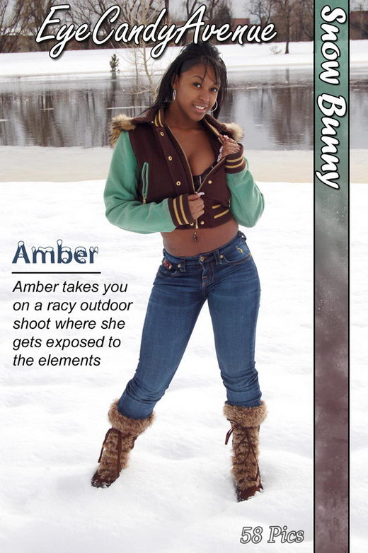 Amber - `#253 - Snow Bunny` - for EYECANDYAVENUE ARCHIVES