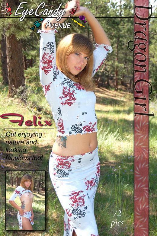 Felix - `#306 - Dragon Girl` - for EYECANDYAVENUE ARCHIVES