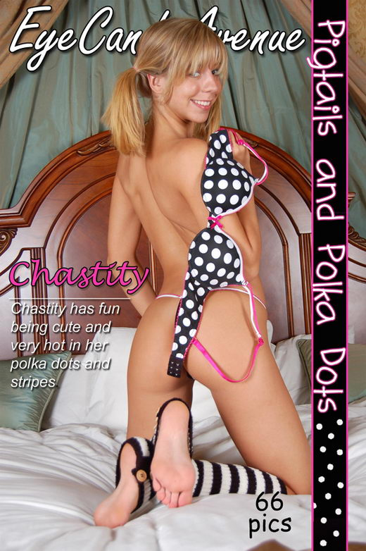 Chastity - `#313 - Pigtails and Polka Dots` - for EYECANDYAVENUE ARCHIVES