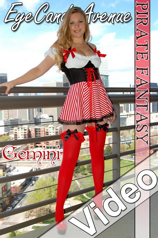 Gemini - `#392 - Pirate Fantasy Video` - for EYECANDYAVENUE ARCHIVES