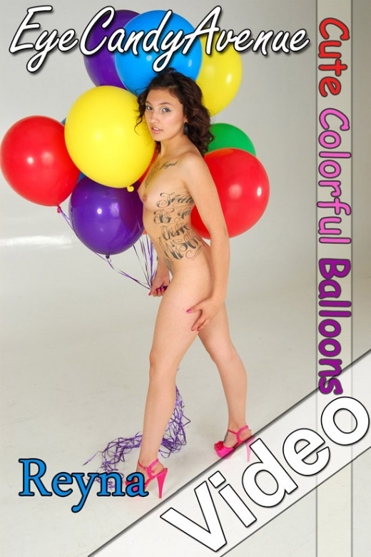 Reyna - `#520 - Cute Colorful Balloons` - for EYECANDYAVENUE ARCHIVES