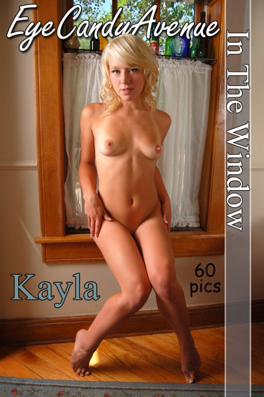 Kayla - `#540 - In The Window` - for EYECANDYAVENUE ARCHIVES