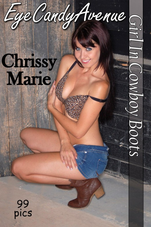 Chrissy Marie - `#549 - Girl In Cowboy Boots` - for EYECANDYAVENUE ARCHIVES