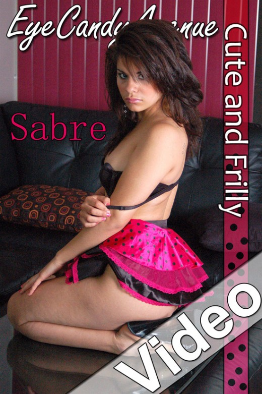 Sabre - `#550 - Cute And Frilly` - for EYECANDYAVENUE ARCHIVES