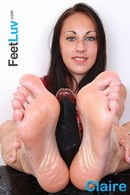 Claire in  gallery from FEETLUV