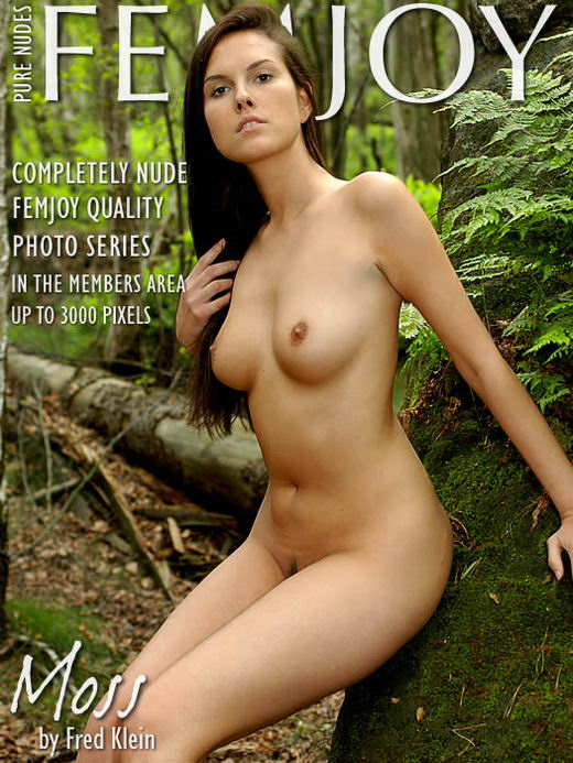 Danielle in Moss gallery from FEMJOY ARCHIVES by Fred Klein