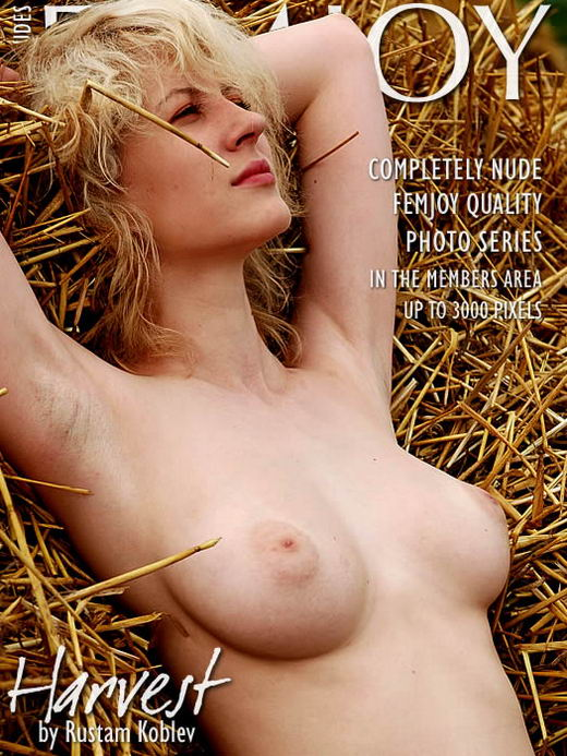 Doris in Harvest gallery from FEMJOY ARCHIVES by Rustam Koblev