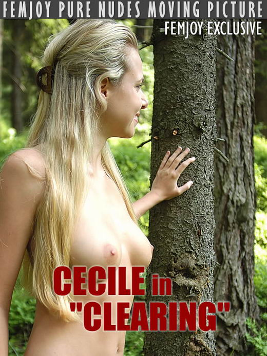 Cecile in Clearing - Part I video from FEMJOY ARCHIVES by Robert Wild