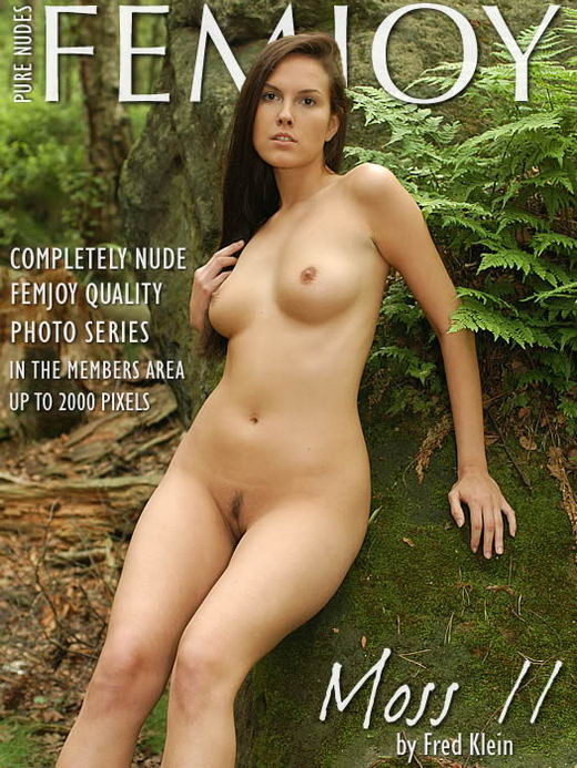 Danielle - `Moss II` - by Fred Klein for FEMJOY ARCHIVES