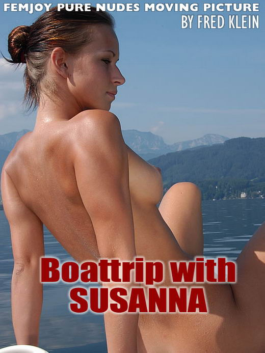 Susanna - `Boat Trip With Susanna` - by Fred Klein for FEMJOY ARCHIVES
