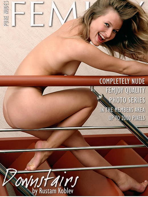 April - `Downstairs` - by Rustam Koblev for FEMJOY ARCHIVES