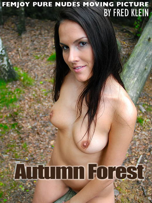 Danielle in Autumn Forest video from FEMJOY ARCHIVES by Fred Klein