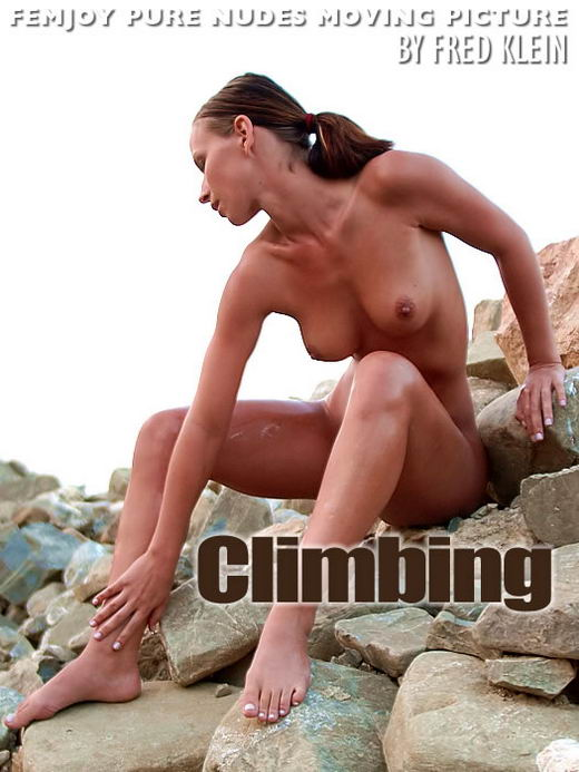 Susanna in Climbing In Motion video from FEMJOY ARCHIVES by Fred Klein