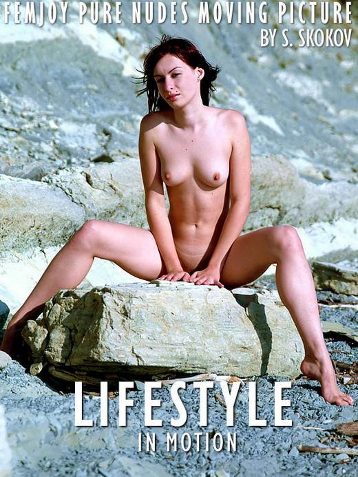 Katja - `Lifestyle In Motion` - by Skokov for FEMJOY ARCHIVES