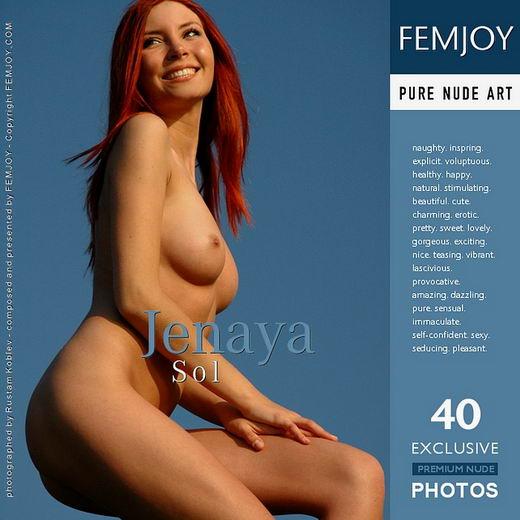 Jenaya - `Sol` - by Rustam Koblev for FEMJOY ARCHIVES