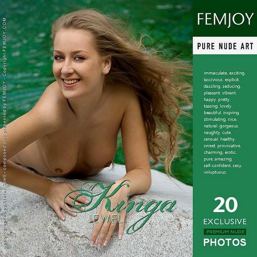 Kinga - `Jewel` - by Stefan Soell for FEMJOY ARCHIVES