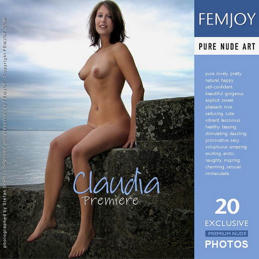 Claudia - `Premiere` - by Stefan Soell for FEMJOY ARCHIVES
