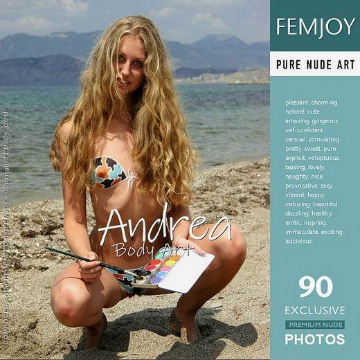 Andrea - `Body Art` - for FEMJOY ARCHIVES