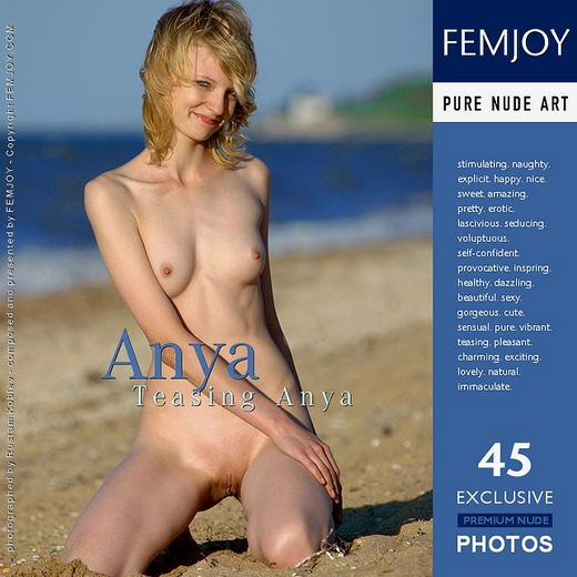 Anya - `Teasing Anya` - by Rustam Koblev for FEMJOY ARCHIVES