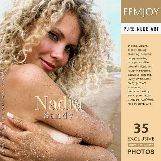 Nadia - `Sandy` - for FEMJOY ARCHIVES