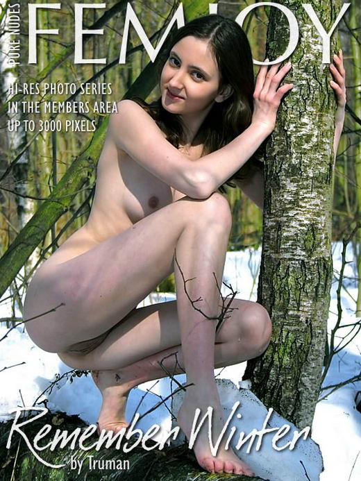 Dana - `Remember Winter` - by Vic Truman for FEMJOY ARCHIVES