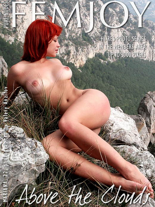 Mariana in Above The Clouds gallery from FEMJOY ARCHIVES by Valery Anzilov