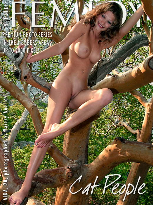 Aida - `Cat People` - by Valery Anzilov for FEMJOY ARCHIVES