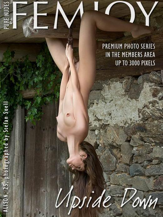 Alison - `Upside Down` - by Stefan Soell for FEMJOY ARCHIVES