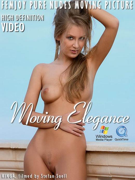 Kinga - `Moving Elegance` - by Stefan Soell for FEMJOY ARCHIVES