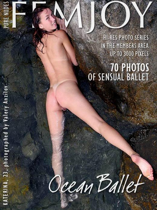 Katerina - `Ocean Ballet` - by Valery Anzilov for FEMJOY ARCHIVES