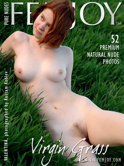 Valentina in Virgin Grass gallery from FEMJOY ARCHIVES by Rustam Koblev