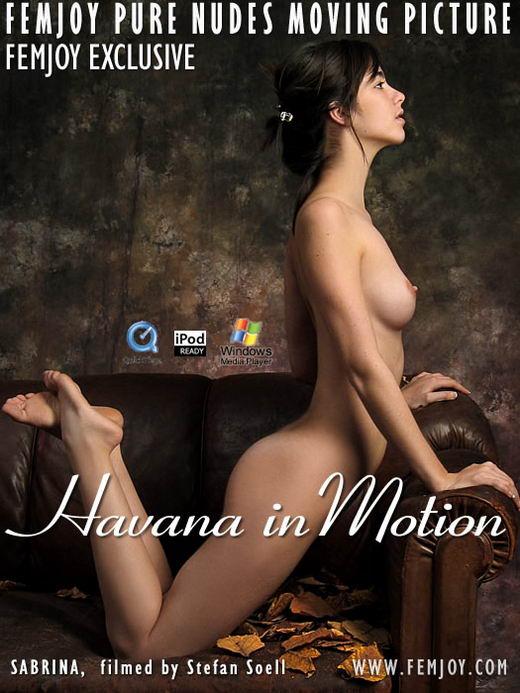 Sabrina - `Havana in Motion` - by Stefan Soell for FEMJOY ARCHIVES