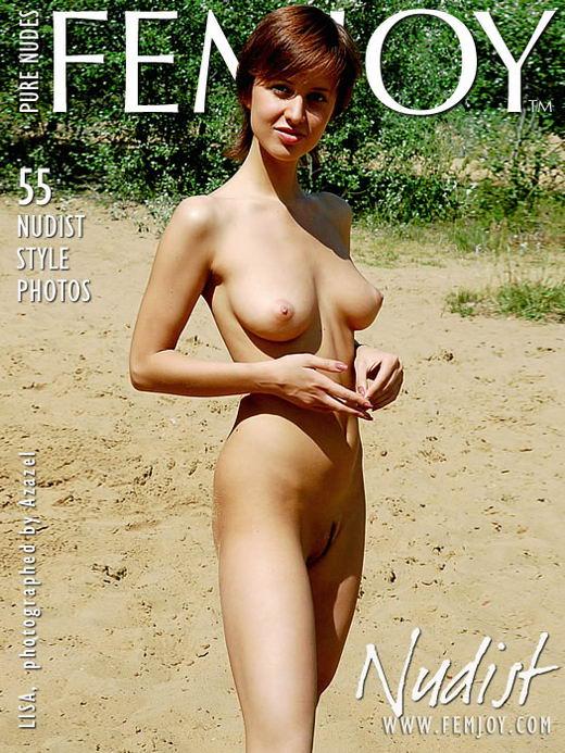 Lisa - `Nudist` - by Azazel for FEMJOY ARCHIVES