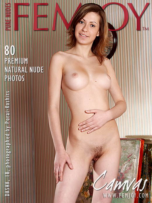 Dasha - `Canvas` - by Peter Porai-Koshits for FEMJOY ARCHIVES