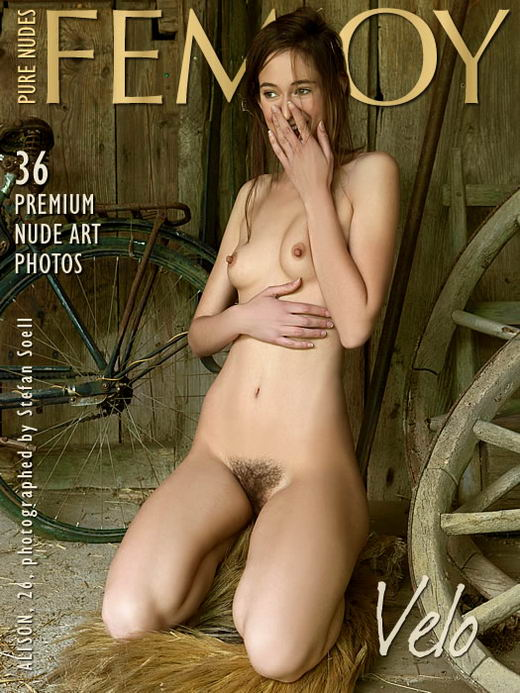 Alison in Velo gallery from FEMJOY ARCHIVES by Stefan Soell