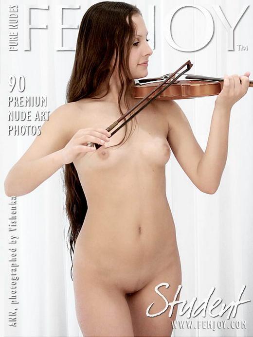 Ann - `Student` - by Vishenka for FEMJOY ARCHIVES