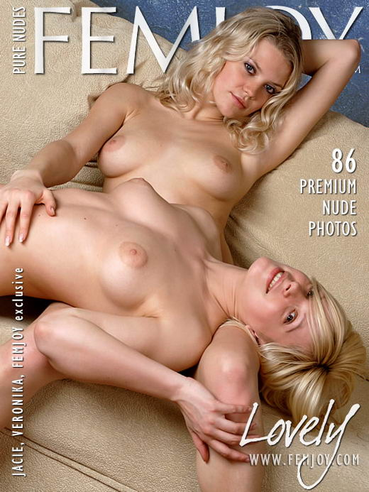 Jacie & Veronika in Lovely gallery from FEMJOY ARCHIVES