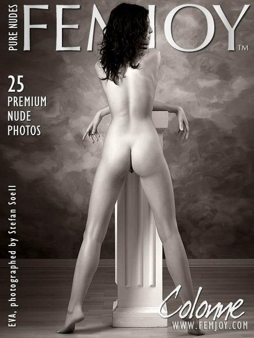 Eva in Colonne gallery from FEMJOY ARCHIVES by Stefan Soell
