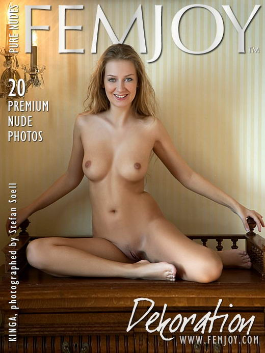 Kinga - `Dekoration` - by Stefan Soell for FEMJOY ARCHIVES