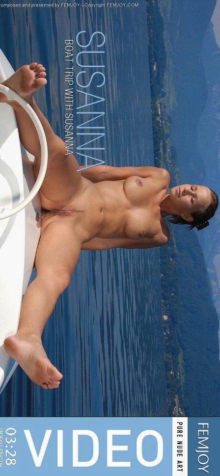 Susanna in Boat Trip video from FEMJOY VIDEO