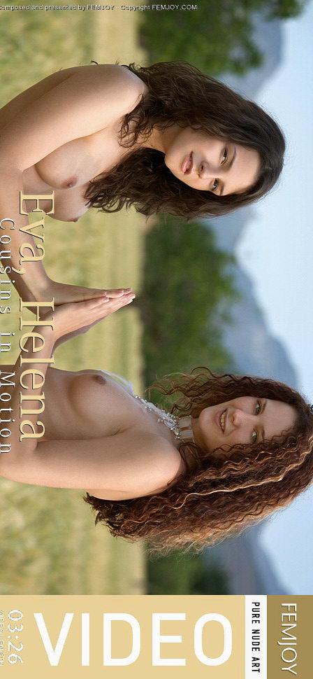Eva & Helena in Cousins in Motion video from FEMJOY VIDEO by Stefan Soell