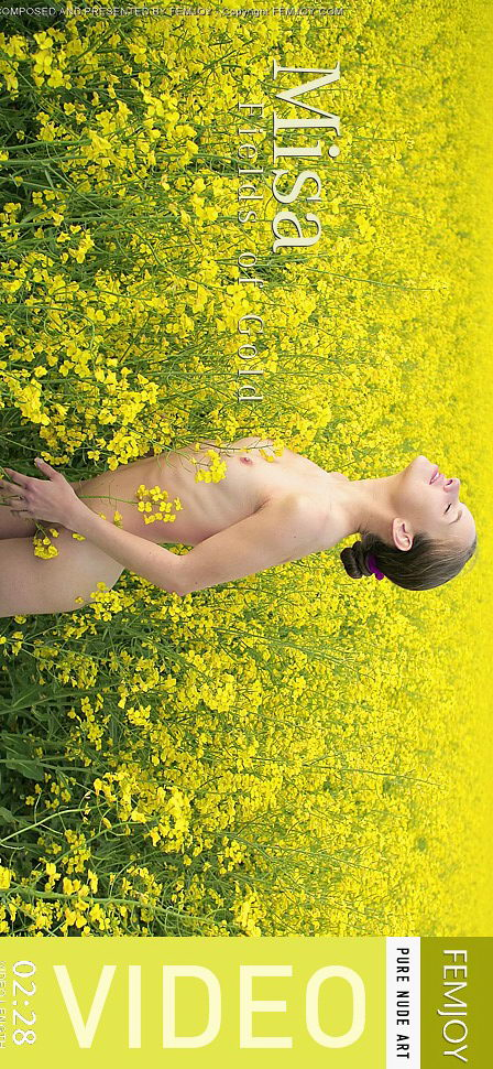 Misa in Fields of Gold video from FEMJOY VIDEO